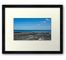 Vibrant Northumberland Coastal Landscape Framed Print