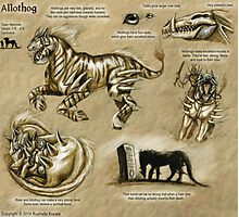 Bestiary: Allothog Photographic Print