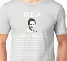 Walter White DEA man of the year Unisex T-Shirt