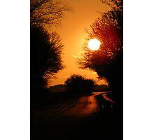 Burford Sunset Photographic Print