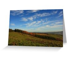 On Croaghan Hill Greeting Card