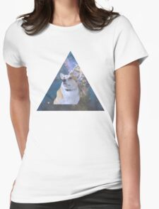 Space Corgi Womens Fitted T-Shirt