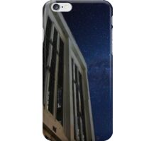 Abandoned power station in the dark of night iPhone Case/Skin