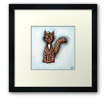 Kittylicious Framed Print