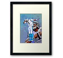 Cam Newton Dab #2 Framed Print