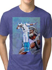 Cam Newton Dab #2 Tri-blend T-Shirt
