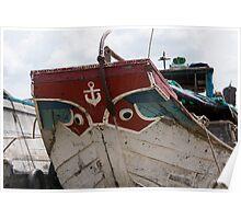 Mekong river boat Poster