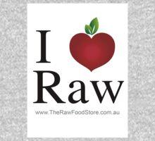 I Love Raw One Piece - Long Sleeve