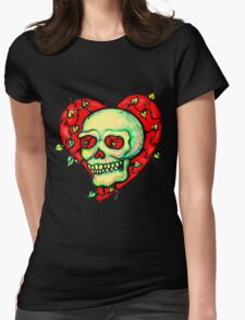 Skeleton Heart with Vines T-Shirt