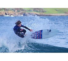 Surfing Action Photographic Print