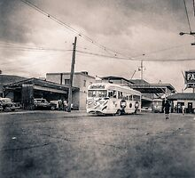 Vintage Streetcar Trolley 1508 by YoPedro