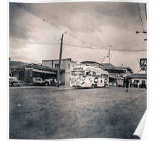 Vintage Streetcar Trolley 1508 Poster