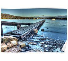 Shelley Beach HDR - Orford, Tasmania, Australia Poster