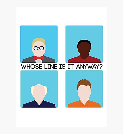 Colin Mochrie Whose Line Is It Anyway: Photographic Prints ...