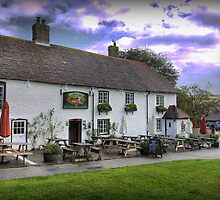 The Tiger Inn at East Dean by Larry Lingard-Davis