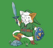 Legend of Kitty Kids Tee