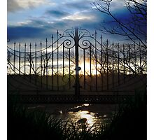 Sunset Gate Photographic Print