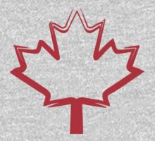 canadian maple leaf Baby Tee
