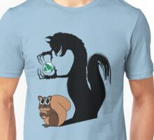 Squirrely Shadow Unisex T-Shirt