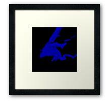 Materialize: Blue Dragon Framed Print