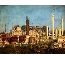 Abandoned refinery Photographic Print