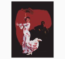 Flamenco Dancer and Guitarist by LeilaniSmith