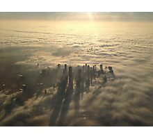 New York City Fog  Photographic Print