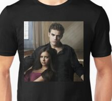 Stefan and Elena The Vampire Diaries Unisex T-Shirt