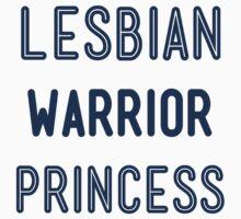 Lesbian Warrior Princess Jersey Fit by Jeremiah88