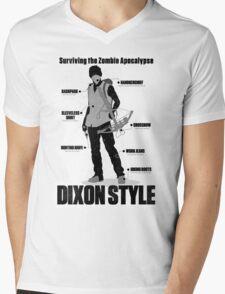 Dixon Style Mens V-Neck T-Shirt