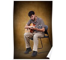 Listen to the Guitar Man Poster
