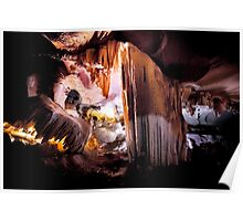Alien Formation: Limestone Cave, Vietnam Poster