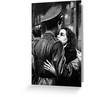 War and Farewells Greeting Card