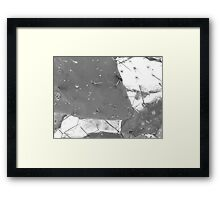 ©MS-GS Another 33 Laps And We Ended - Monochromatic Framed Print