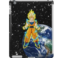 dragaonball z Goku Charging iPad Case/Skin
