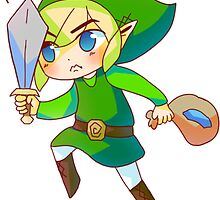Fight for Heart Pieces, Fight for Rupees by pastelmacaron