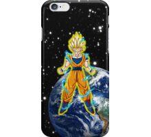 dragaonball z Goku Charging iPhone Case/Skin