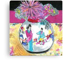 $ 5 jar Canvas Print