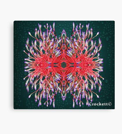 Beautiful Flowers Calendar 3 September Canvas Print