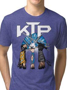 Kombat Tomb Podcast T-Shirt Logo Tri-blend T-Shirt
