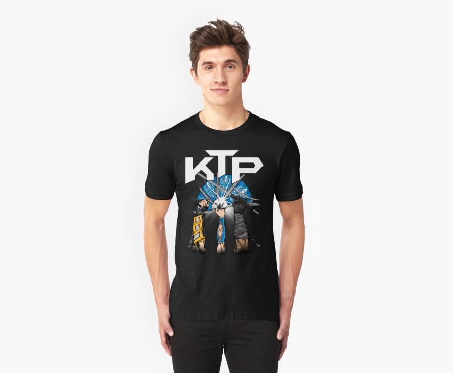 Kombat Tomb Podcast T-Shirt Logo by kombattomb