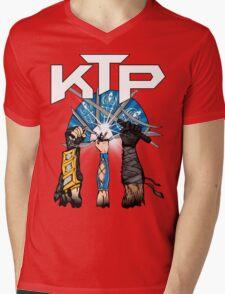 Kombat Tomb Podcast T-Shirt Logo Mens V-Neck T-Shirt