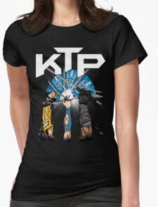 Kombat Tomb Podcast T-Shirt Logo Womens Fitted T-Shirt