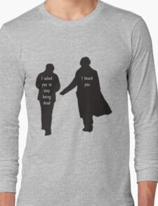 Sherlock & John Long Sleeve T-Shirt