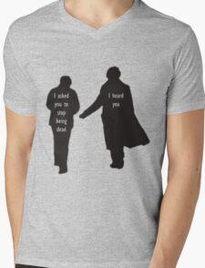 Sherlock & John Mens V-Neck T-Shirt