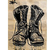 these old boots Photographic Print