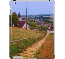 Stairway to the village center | landscape photography iPad Case/Skin