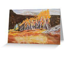 Snowmass Canyon near Aspen Colorado Greeting Card