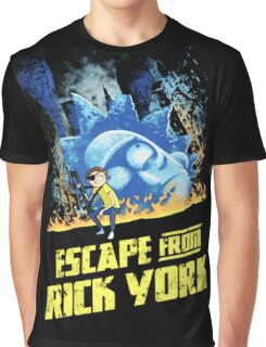Rick and Morty Escape From Rick York Graphic T-Shirt