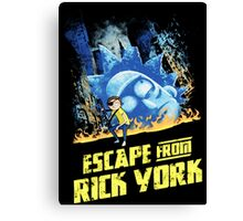 Rick and Morty Escape From Rick York Canvas Print